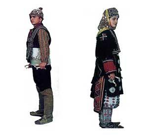 Marmara Bolgesinin Giyimi Yoresel Kiyafetleri